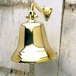 Polished Brass Ship's Bell