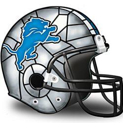 NFL Detroit Lions Accent Helmet Lamp