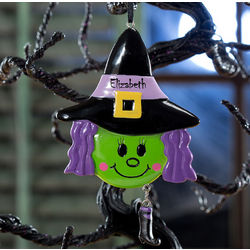 Personalized Lil' Witch Ornament