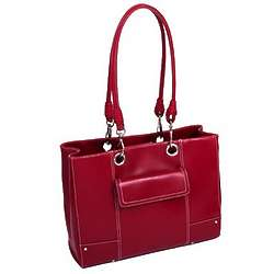Serena Faux Leather Business Tote