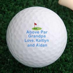 Above Par Personalized Callaway Golf Balls