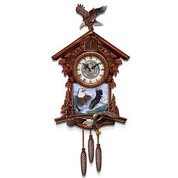 Guardians of Time Eagle Cuckoo Clock