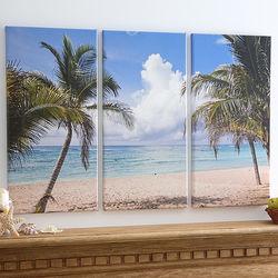 Split Panel Three Photo Canvas