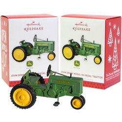 Hallmark John Deere 60 Pedal Tractor 2013 Christmas Ornament