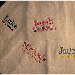Personalized Kid's Bath Towel
