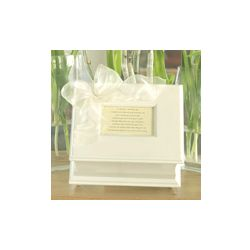 White Poem Memory Box for Baby
