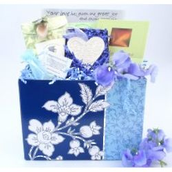 Loss of a Father Women's Sympathy Basket
