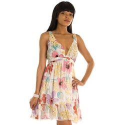 Spring Flowers Party Dress