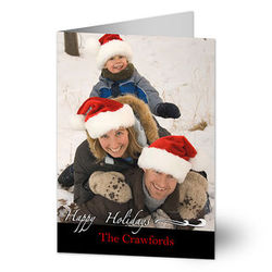 Your Holiday Greeting Custom Photo Christmas Cards