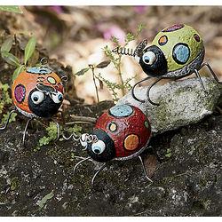 Polka Dot Bug Figurines