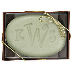 Personalized Kiwi Starfruit Engraved Soap