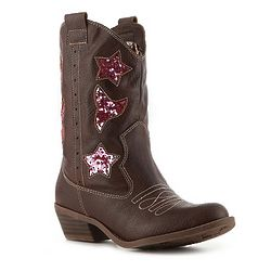 Girl's Toddler and Youth Western Boot