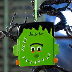 Frankenstein Personalized Halloween Ornament