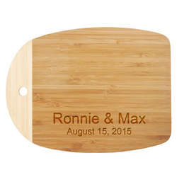 Mini Personalized Bamboo Cutting Board