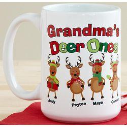 Personalized Deer Ones Mug