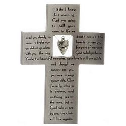 Memory Cross with Verse