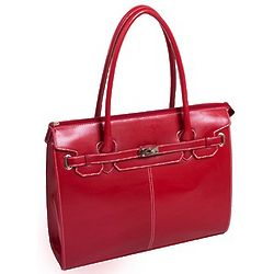 Faux Leather Business Tote