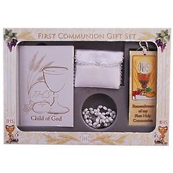 Girl's Child of God Communion Gift Set
