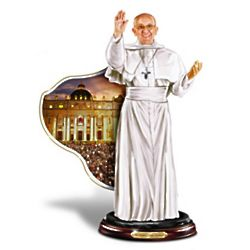 His Holiness Pope Francis Sculpture