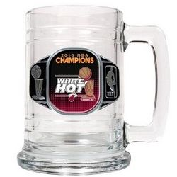 Miami Heat 2013 NBA Championship Beer Mug