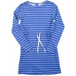 Daisy Drawstring Knit Dress