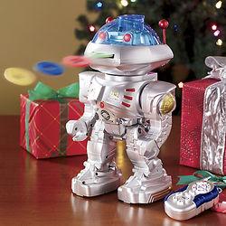 Mr. Robot the Disk Shooting Robot