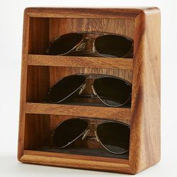 Acacia Wood Sunglasses Holder