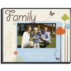 Personalized Family Nature's Song Picture Frame