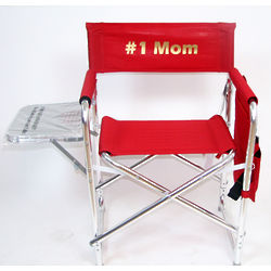 Imprinted Sports Director's Chair with Side Table