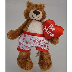 Be Mine Knock Out Nate with Personalized Boxers