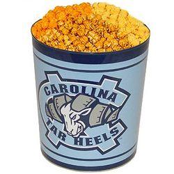 University of North Carolina 3-Way Popcorn Tin