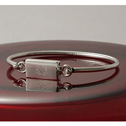 Personalized Rectangle Bangle