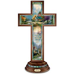 Thomas Kinkade Illuminated Faith Cross