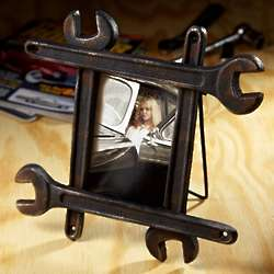 Manly Mans Wrench Picture Frame