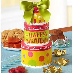 Petite Sweets Birthday Cake Tower