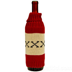 XXX Knit Liquor Bottle Cover