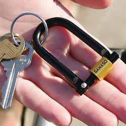 U-Lock Key Chain