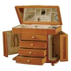 Josephine Oak Jewelry Box