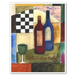 Twas a Very Good Year for Wine Personalized Art Print