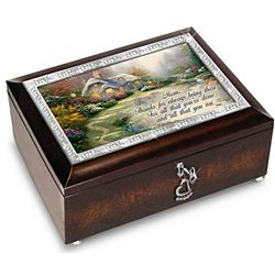 Thomas Kinkade Forever In Mother's Heart Music Box