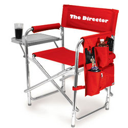 Embroidered Sports Director's Chair
