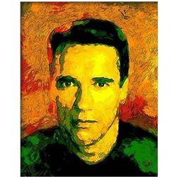 Arnold Schwarzenegger Oil Painting 8x10 Giclee Print