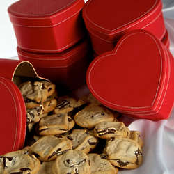 Red Heart Box of Gourmet Cookies