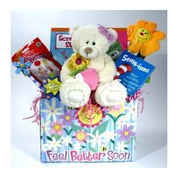 Mendy A Friendy Children's Get Well Gift Basket