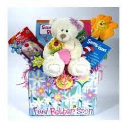 Mendy A Friendy Children's Get Well Gift Basket