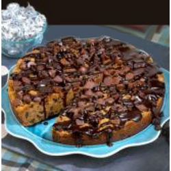 Chocolate Chip Deep Dish Cookie Pie