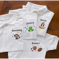 Personalized Kids Polo Shirt
