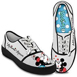 Disney Kissin' Mickey & Minnie Women's Shoes