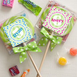 Personalized Birthday Lollipops
