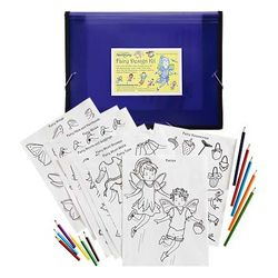 Fairy Drawing and Coloring Design Kit